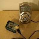 Control a Schlage electronic deadbolt with an arduino!