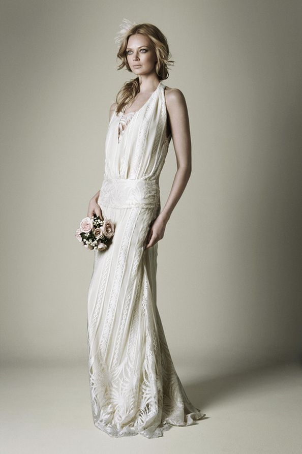 The 109 best 1920\'S INSPIRED BRIDAL GOWNS images on Pinterest ...