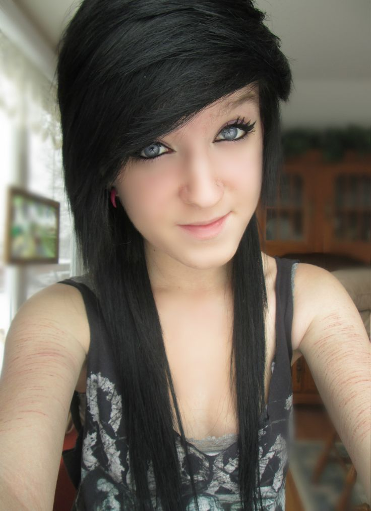 23 Best Cute Hair Images On Pinterest Emo Hairstyles Cabello De