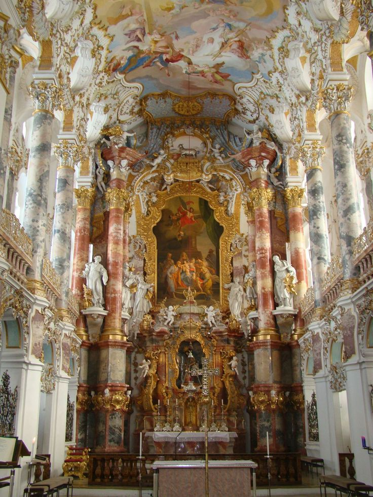 78 best baroque rococo architecture images on pinterest for Baroque rococo architecture