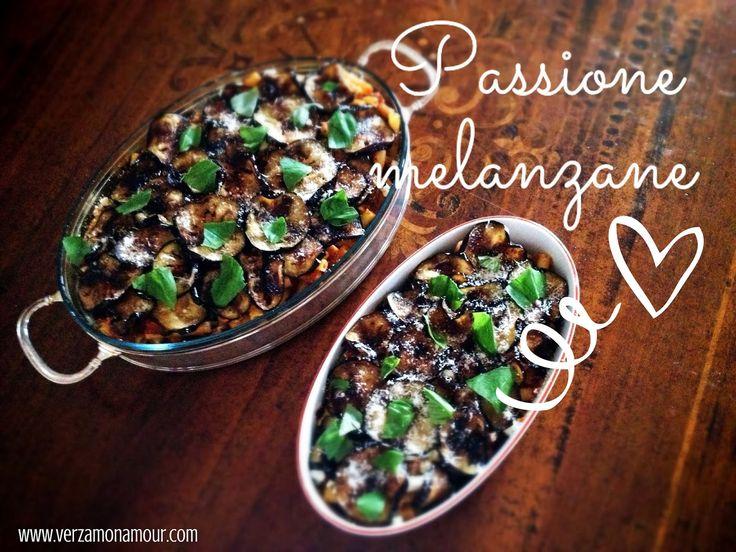 Ricette di cucina - Le ricette di Verzamonamour.com: Pasta al forno con le melanzane. A modo mio!