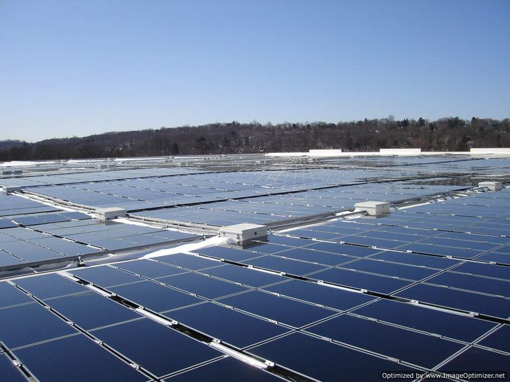Rooftop Solar Panel System Optimized