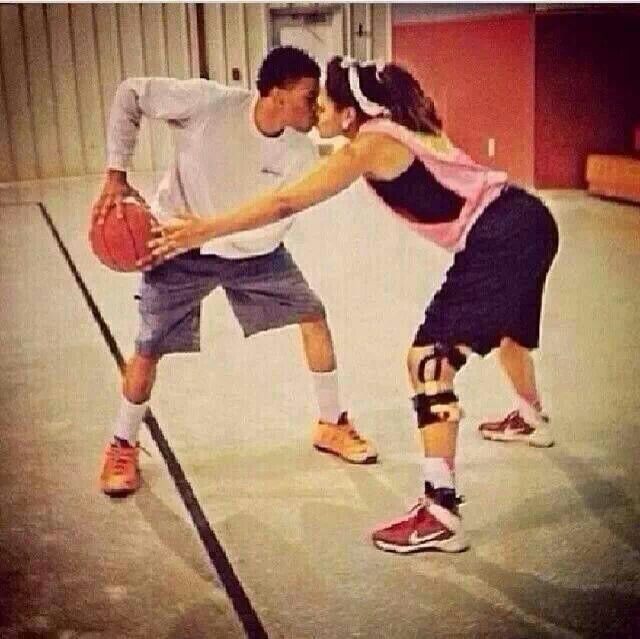 cute relationship goals basketball and football