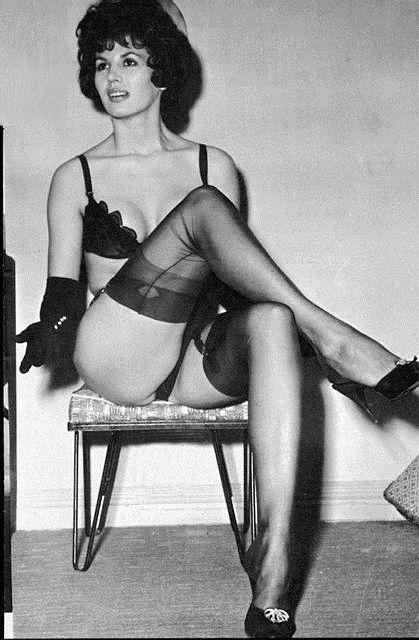 Brilliant idea Vintage stockings spick and span