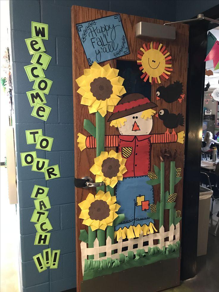 Fall Classroom Door