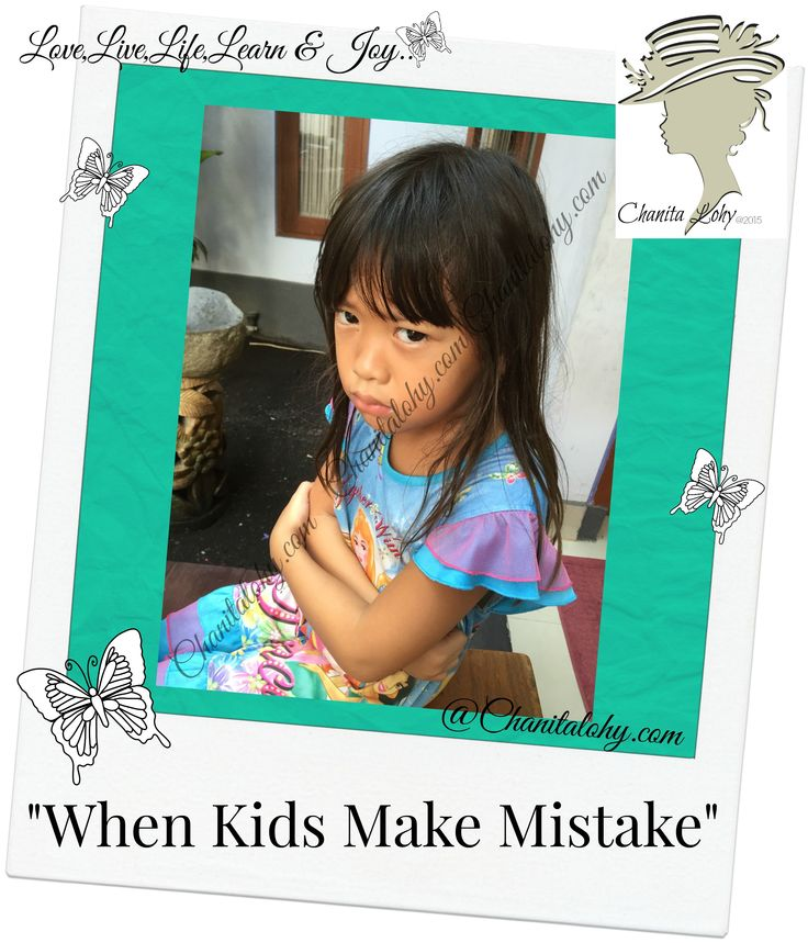 When Kids Make Mistake
