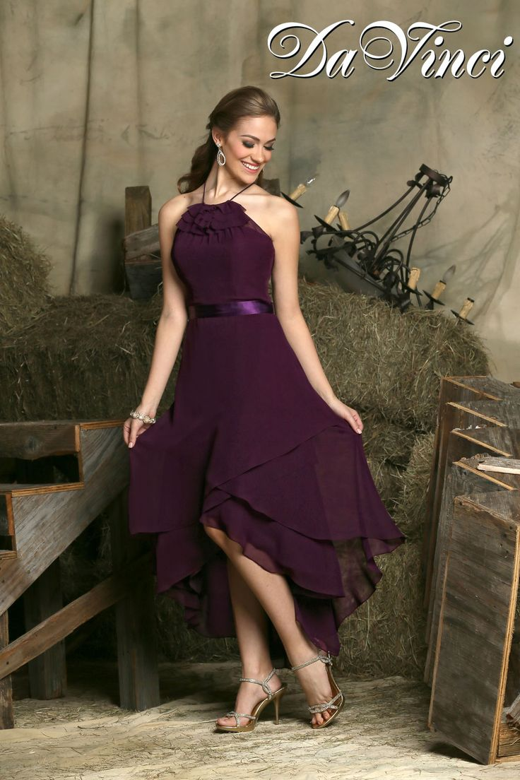 100 best davinci bridesmaids images on pinterest davinci for Hi lo hemline wedding dresses