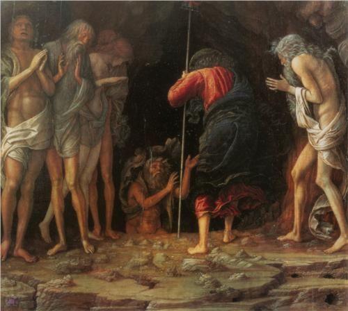 Descent into Limbo - Andrea Mantegna  1492