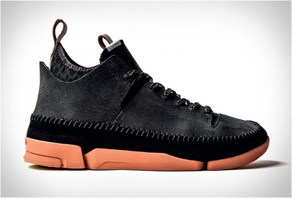 Clarks is a footwear brand known for their smart-casual boots, including the iconic desert boot. However, their latest Trigenic collection fuses Clark´s shoemaking heritage together with modern sport technologies, using high quality materials and the