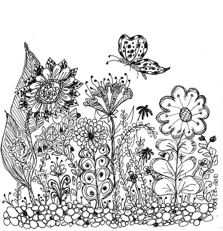 zen art printable coloring pages - photo #3