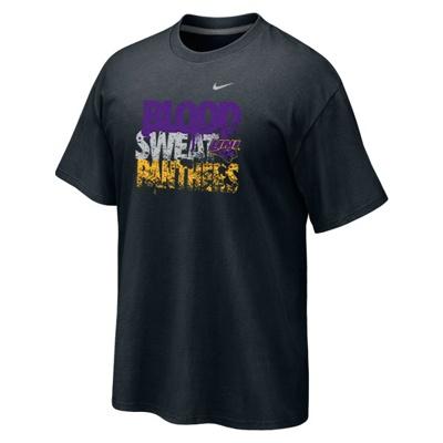 """Nike black """"Blood, Sweat, Panthers"""" $19.99: Nike Black"""