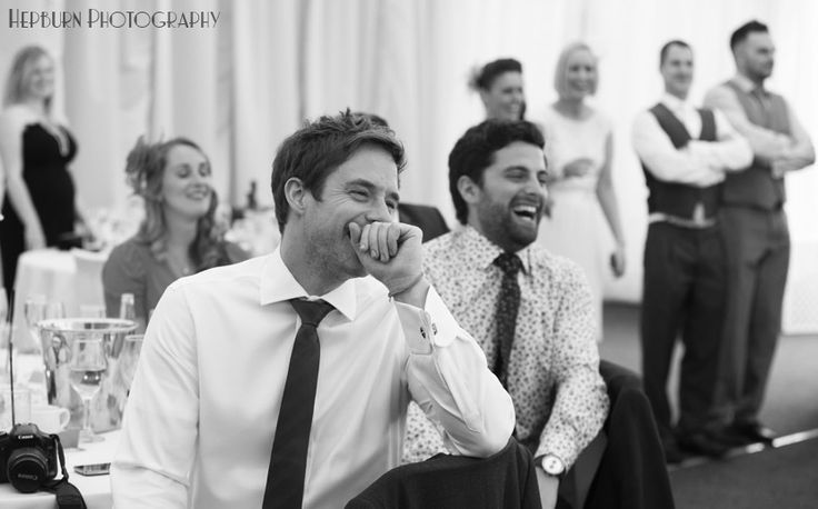 wedding speeches guests laugh
