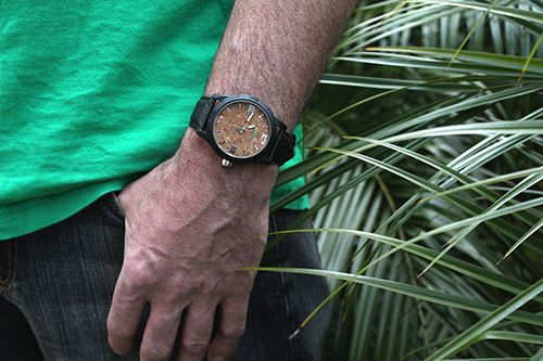 Sprout Cork - looking good on Mike's wrist.