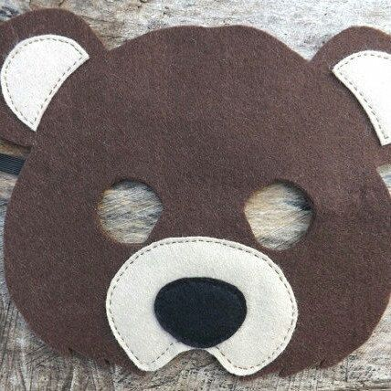 Yay! Bear mask finally listed in the shop