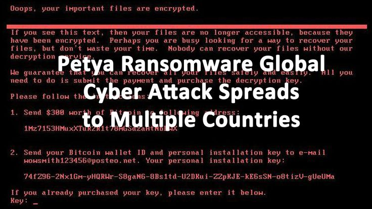 Petya Ransomware Global Cyber Attack Spreads to Mulitple Countries Petya cyber attack has struck Europe, the United States, the Middle East, and Australia. Affected countries include Spain, Germany, Israel, the UK, Netherlands and the United States. Australian companies Mondelez, Cadbury, as well as law firm DLA Piper. In the Ukraine, which was the hardest hit …