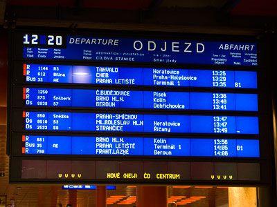 Train Station Praha