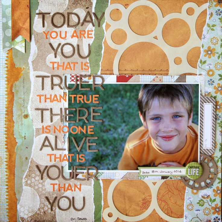 All About Scrapbooks - Basic Grey Clippings - by Fiona Johnstone
