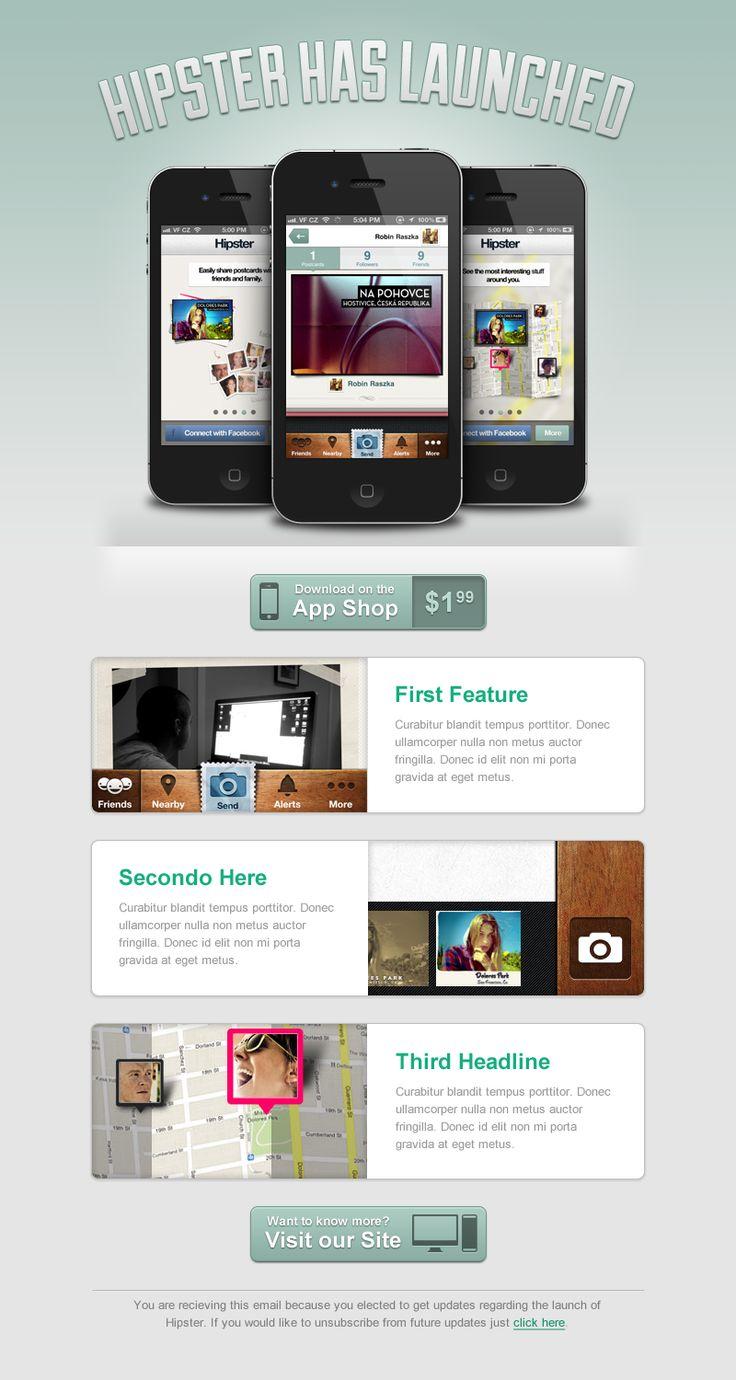 ideas newsletter design app ui design email design visual design email
