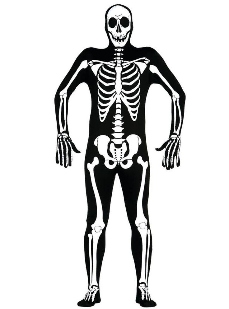Mono de segunda piel esqueleto para hombre | Comprar