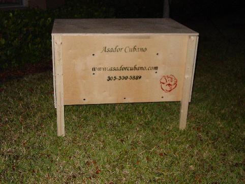 Pig Roaster, Asador / Ahumador de lechon , puerco o Cerdo, by A.R. - pig roaster, barbecue, Smoker