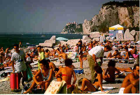 Italy waterview in Sistiena (near Trieste)