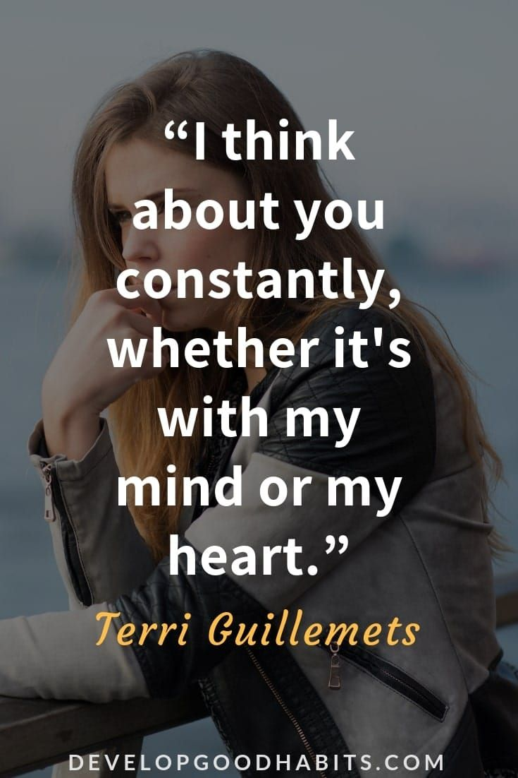 Quotes to let someone know you are thinking of them