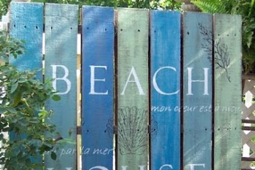 fence color painting idea, love it ( link doesn't work)