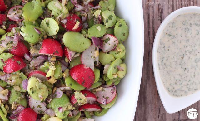 C'est ma fournée !: La salade de fèves et de radis d'Ottolenghi (et sa...