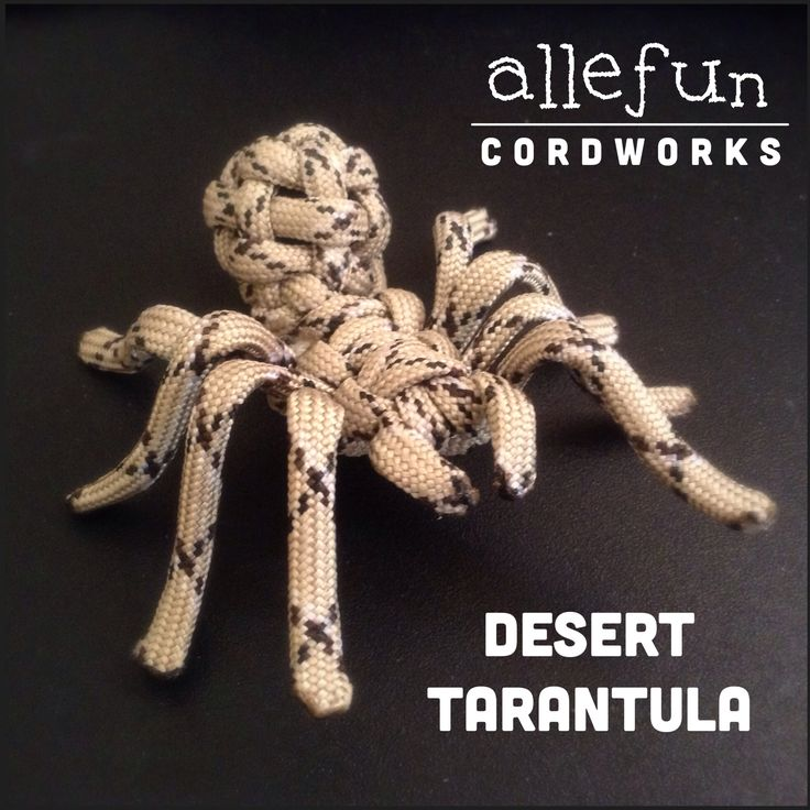 Paracord spider! A tarantula, to be precise..  www.facebook.com/allefuncordworks IG: allefuncordworks