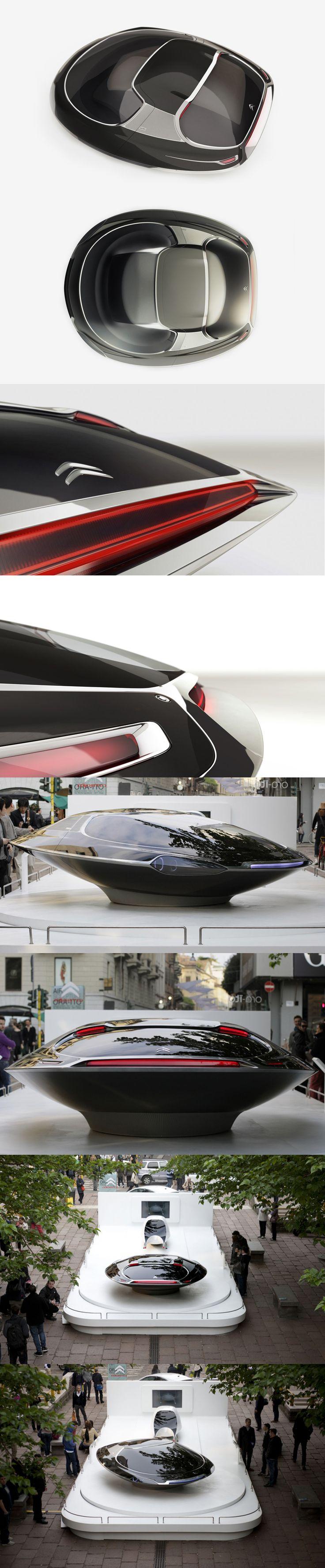 ♂ Futuristic transportation Citroen's UFO Concept Car