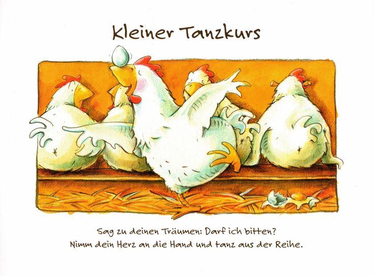"""Kalender """"Unter uns gesagt"""". Grafik Werkstatt Bielefeld #Sprüche #Träume #Tanzen"""