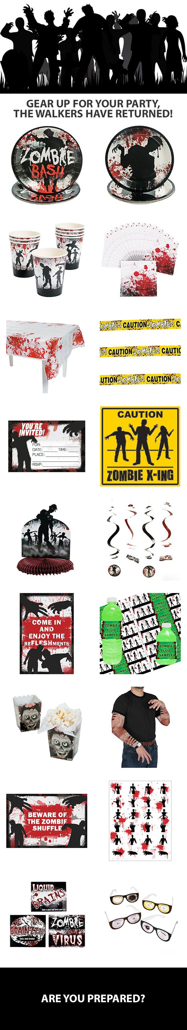 Best 20+ Zombie party decorations ideas on Pinterest | Zombie ...