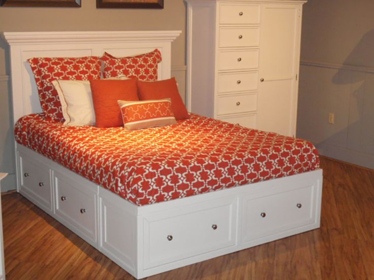 Storage Beds Queen Beds And Queen On Pinterest