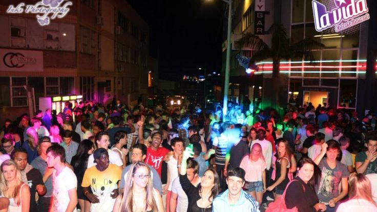 Street Party outside Skyybar Durban on 2nd August 2013 with international super star Djuro Trumpster..