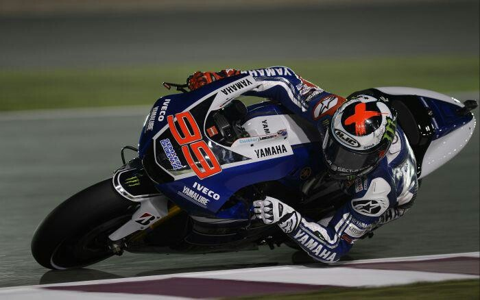 World champion Lorenzo on