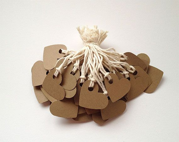 Kraft Paper Brown Jewelry Clothing Retail by papercutscompany, $5.75