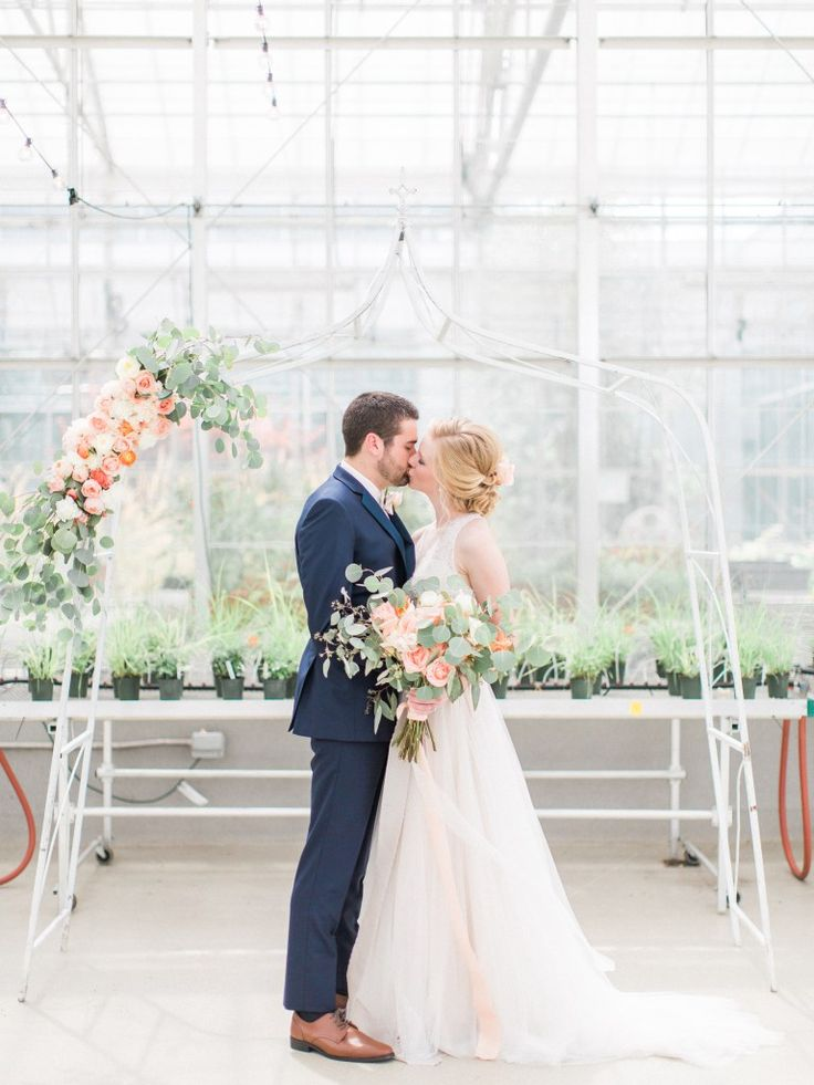 Greenhouse Shoot Whimsical Vintage Chic Wedding By Forever And A Day Events Design