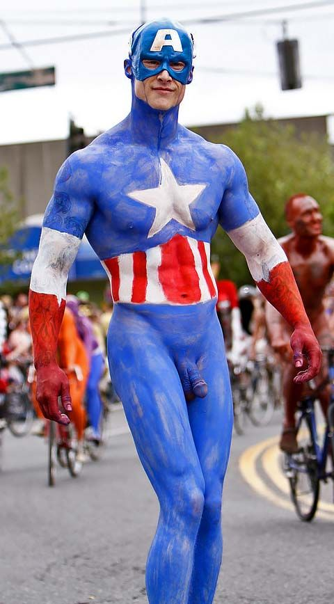 from Bruce lady from captain america naked