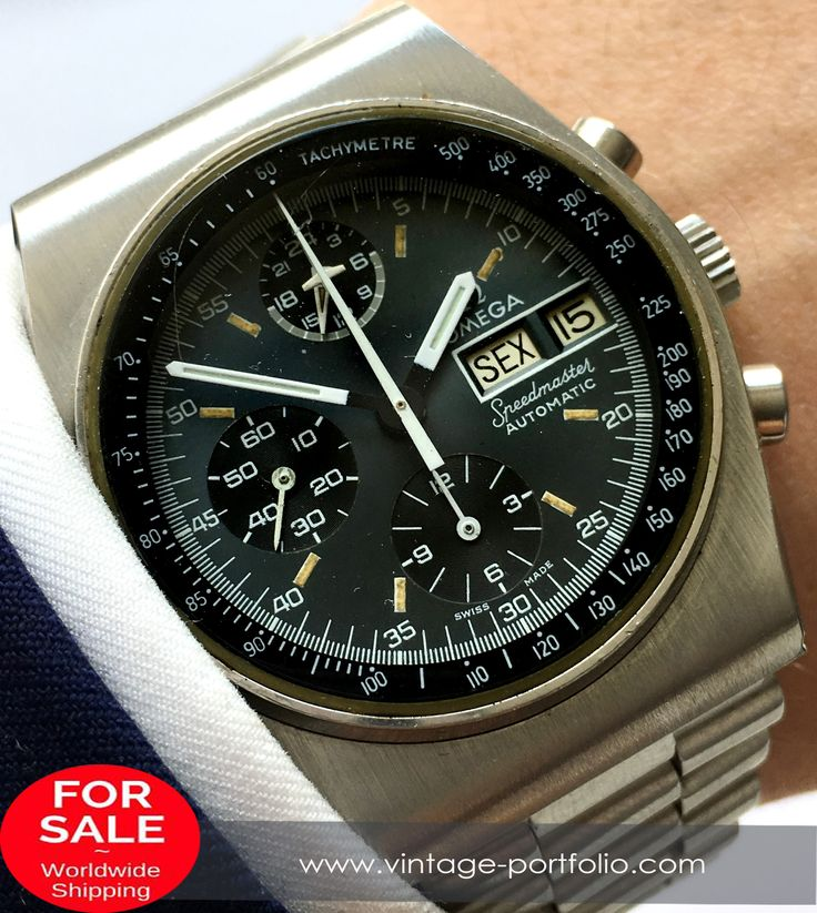 Original Omega Speedmaster Automatic Day Date Mark 4.5  #omega	 #omegawatches #omegavintage	 #vintageos 	#militarywatches