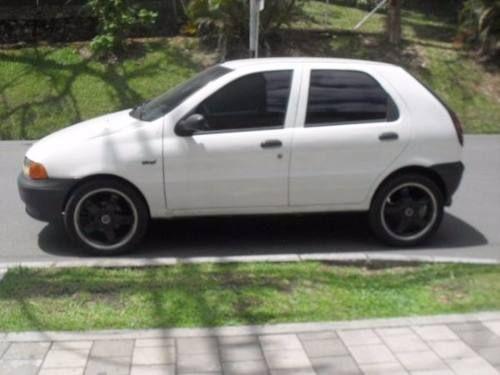 fiat palio 3 puertas modelo 1998 color blanco en excelente!