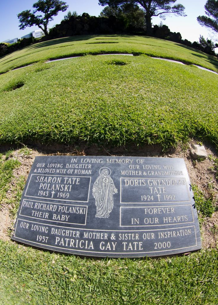 'Valley of the Dolls' actress Sharon Tate.Headstone