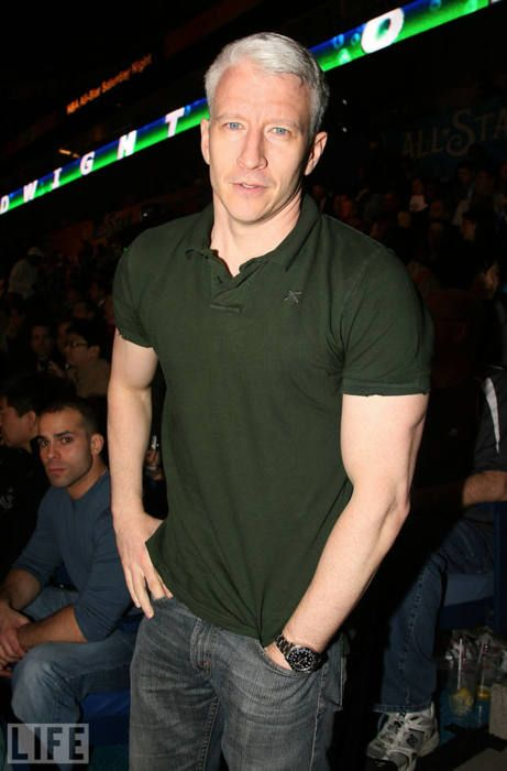 I know, I know, but he's still HOT!!  Anderson Cooper