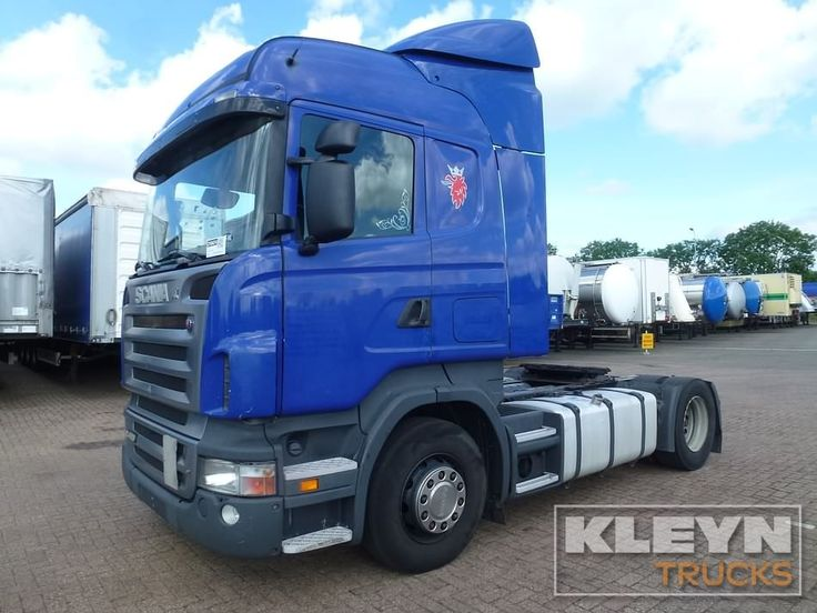 For sale: Used and second hand - Tractor unit SCANIA R 420