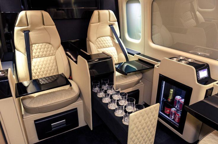 Senzati Jet Sprinter, el ultra lujo de Mercedes Benz.