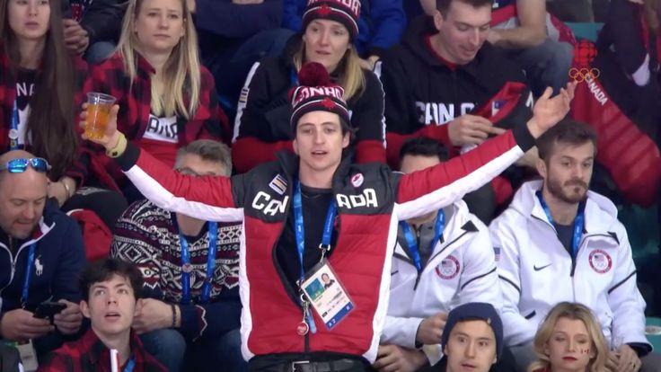 Scott Moir keeps Canadian women's hockey fans smiling