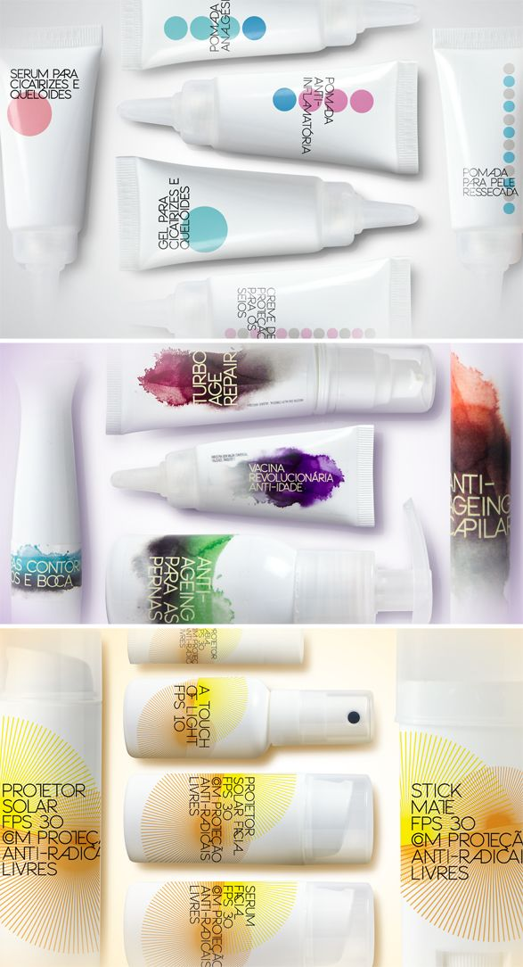 by Casa Rex D'ALTOMARE QUÍMICA  Concept and #packaging #design for a range of cosmetic and pharmaceutical products. PD