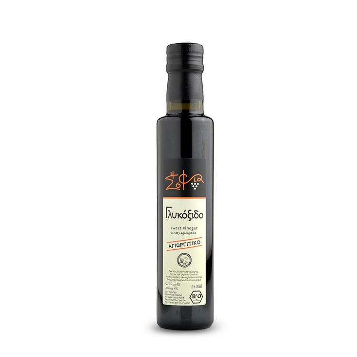 Organic sweet vinegar from Nemea Peleponnese