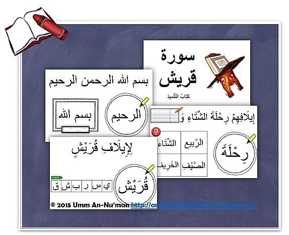 Quran Centre Word Work: Surah Quraysh