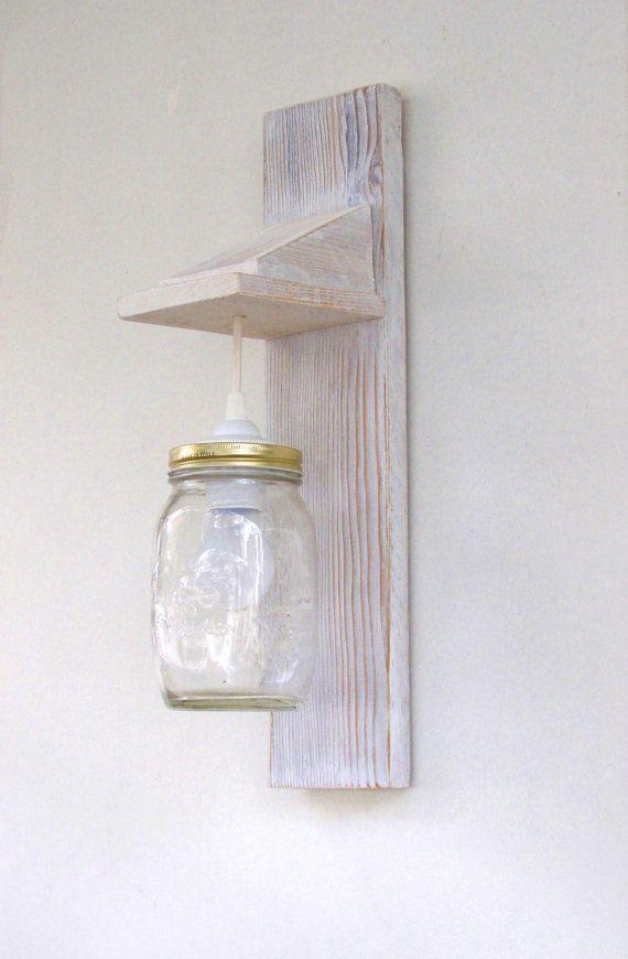 Par de lámpara de pared lámpara de pared de madera por TassoStudio