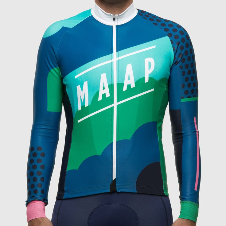 MAAP Clouds winter long sleeve cycling jersey